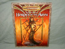 D&D 3.5 Edition Hardback -  FIENDISH CODEX I: HORDES OF THE ABYSS  (VERY RARE!!)