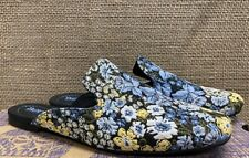 NIB Born F47132 Women's Ingah Black/Light Blue/Yellow Casual Shoe 8