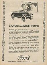 Y0263 Lavorazione FORD - Pubblicità d'epoca - Advertising