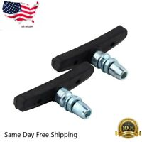 1 Pair Mountain Bike  Cycling V Brake Holder Pads   Rubber Durable  Performance