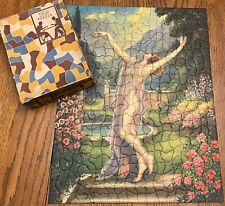 RARE Vtg Tuco Nude Picture Puzzle In Love With Natures Zephyrs Non Interlocking