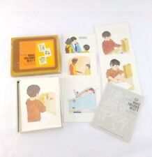 Vintage Ideal Language Arts What Follows Next Sequencing Picture Cards Teacher