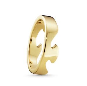 Georg Jensen Fusion End Ring - 18 kt. Yellow Gold. #1367 B