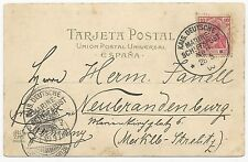 Germany Scott #68 on Ship Cover S.M.S. Medusa May 28, 1903