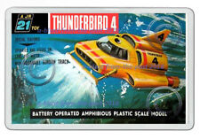 THUNDERBIRDS 4 JR21 TOY BOX ARTWORK NEW JUMBO FRIDGE LOCKER MAGNET