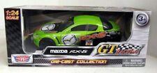 Mazda RX-8 - Green , Classic  Model Car, Motormax 1/24 ,
