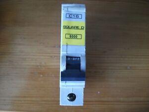 QOE Square D Single Pole Circuit Breaker C16 QOE Range