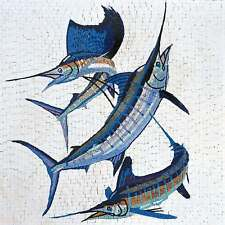 Mosaic Art - Group of Sworfish