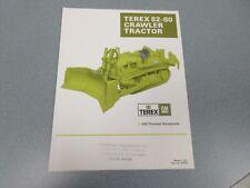 Terex 82-80 Crawler Tractor Literature