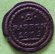 SUISSE 2 RAPPEN 1815 CANT. DE SCHWYZ