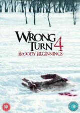 Wrong Turn 4: Bloody Beginnings - UK REGION 2 DVD.
