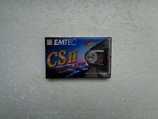 Vintage Audio Cassette EMTEC Chrome Super 60 * Rare From Germany 1995 *