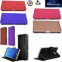 Case Cover For Samsung Galaxy S9 S9 Plus Mgnetic Flip Leather Wallet Card Holder