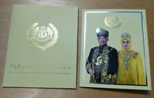 Malaysia 2019 Agong Nordic Gold BU coin card 1pc