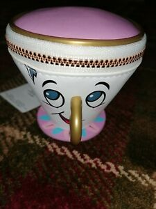 BNWT Disney Beauty And The Beast Chip Teacup Purse Primark