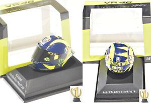 1:8 Minichamps 399180046 AGV helmet MotoGP 2018, Valentino Rossi #46