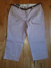 NWT Womens BANDOLINO Petal Dust Maureen Capri Pants Size 6