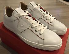 650$ Tod's Ferrari White Allacciata Cavalino Sneakers Size US 10 Made In Italy