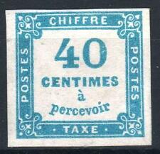 "FRANCE STAMP TIMBRE TAXE 7 "" CHIFFRE TAXE 40c BLEU "" NEUF (x) TB A VOIR   P011"