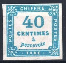 "FRANCE STAMP TIMBRE TAXE 7 "" CHIFFRE TAXE 40c BLEU "" NEUF (x) TB A VOIR   P011"