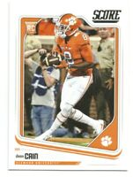 2018 Panini Score Deon Cain Rookie Card RC #393 CLEMSON TIGERS