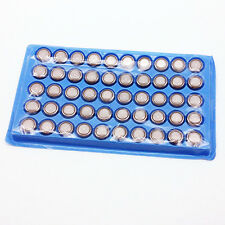 50Pcs LR1130 AG10 389 LR44 1.5V Alkaline Button Cell Battery Batteries Toys Gram