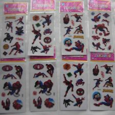 10 Sheets Stickers  Cartoon Scrapbooking Fitters Children Loot Bags Spider-Man