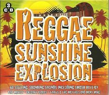REGGAE SUNSHINE EXPLOSION - 3 CD BOX SET - 60 SIZZLING, SHANKING SOUNDS
