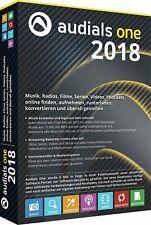 Audials One 2018 CD/ DVD Musik Filme Radio  EAN 4023126119308