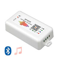 5-24V SP107E Bluetooth APP LED Music Controller 960 Pixels Strip WS2811/2812B