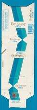 Old EMPTY cigarette packet early health warning style 3 Embassy    #658
