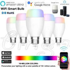 5 Pack WiFi Smart Light LED Bulb 10W RGBW E27 for Amazon Alexa Echo Google Home