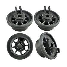 New listing 4pcs Dishwasher Lower Rack Basket Dishrack Wheel for Profilo/Bosch/Siemens/Nef f