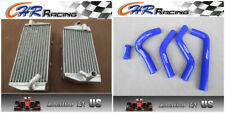 FOR Suzuki RMZ450 RMZ 450 2006 aluminum radiator & silicone hose BLUE