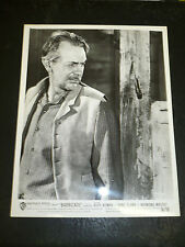 RAYMOND MASSEY, orig b/w from BARRICADE - 1950