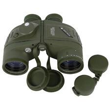 New Waterproof Outdoor BAK4 Prism 10X50 Binoculars Glimmer Rangefinder Compass