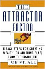 The Attractor Factor: 5 Easy Steps for Creating Wealth (or Anything-ExLibrary