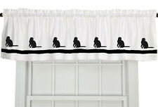 Scottish Fold Cat Window Valance Curtain in Your Choice of Colors