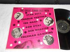 The Great Tenor Jazz Men 60's ALLEGRO ORIG LP GETZ~VENTURA~HAWKINS~NASH NICE