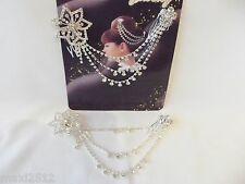 Diamante cristal de Estrás de Diadema / Tocado-Boda nupcial Prom Queen: 03