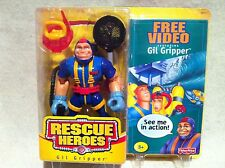 Rescue Heroes Gil Gripper Scube Diver Bonus Video Factory Sealed!