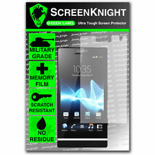 ScreenKnight Sony Xperia S SCREEN PROTECTOR invisible Military Grade shield