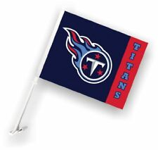 Tennessee Titans NFL Car Flag Window Pole Banner Auto Truck Football Tailgate
