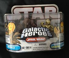 Star Wars Galactic Heroes Chewbacca And Disassembled C-3P0