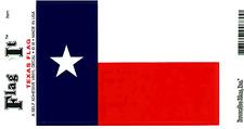 Texas State Flag - Vinyl Decal Sticker 3.5''x 5''