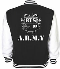 Bts Inspired Varsity Jacket Army Bangtan Boys K-Pop Jimin 95 Rap Mon 94