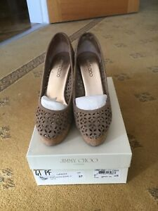 jimmy choo wedges 4 Good Condition