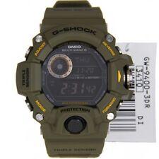 G-SHOCK RANGEMAN GW9400-3 Military Green Triple Sensor Solar Digital Watch