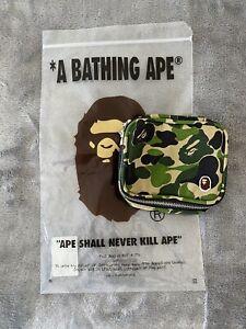 A BATHING APE Kiss Lock Closure ABC CAMO CLASP MESH SHOULDER BAG Japan Tracking