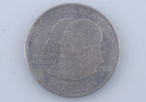1923-S Monroe Commemorative Half Dollar 50c (XF) Extra Fine Condition
